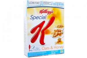 Ngũ cốc dinh dưỡng Kellogg's Special Oats & Honey hộp 209g