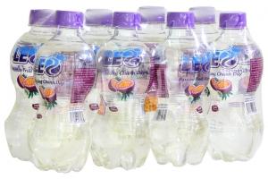 Nước khoáng Leo vị Chanh dây chai 350ml (lốc 8 chai)
