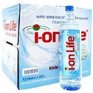 Nước khoáng I-on Life chai 1250ml (thùng 12 chai)