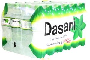 Nước tinh khiết Dasani chai 500ml (thùng 24 chai)