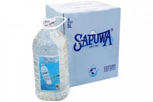Nước tinh khiết Sapuwa chai 5 lít (thùng 4 chai)