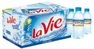 Nước khoáng Lavie chai 350ml (Thùng 24 chai)