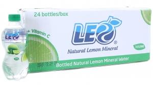 Nước khoáng Chanh Leo chai 350ml (thùng 24 chai)