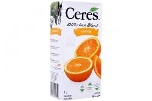 Nước ép Cam Ceres hộp 1 lít