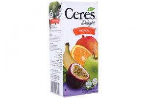 Nước trái cây hỗn hợp nhiệt đới Ceres hộp 1 lít