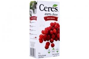 Nước ép Nho Ceres hộp 1 lít