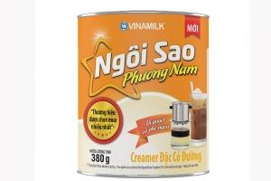 Sữa đặc có đường Ngôi Sao Phương Nam Cam lon 380g