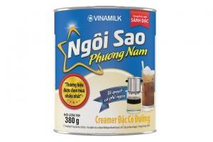 Sữa đặc có đường Ngôi Sao Phương Nam Xanh dương lon 380g