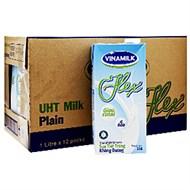 Sữa tiệt trùng Vinamilk Flex không đường 1l (thùng 12 hộp)