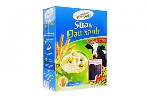 Thức uống dinh dưỡng Việt Ngũ Cốc Sữa và Đậu xanh hộp 375g