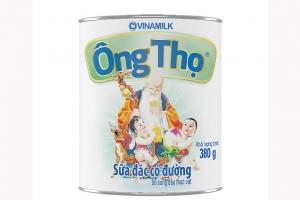 Sữa đặc có đường Ông Thọ nhãn xanh lon 380g
