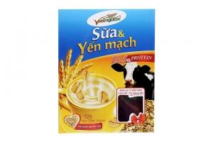 Thức uống dinh dưỡng Việt Ngũ Cốc Sữa và Yến mạch hộp 375g