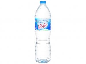 Thùng 12 chai nước khoáng La Vie 1.5 lít