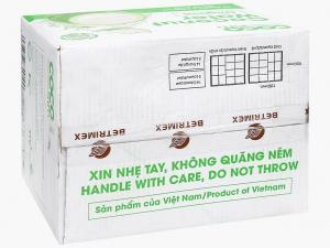 Thùng 12 hộp nước dừa xiêm xanh Cocoxim 1 lít