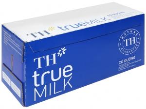 Thùng 12 hộp sữa tươi tiệt trùng có đường TH true MILK 1 lít