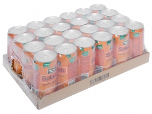 Thùng 24 lon nước cam ép Minute Maid Splash 320ml