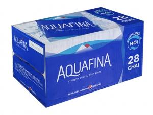 Thùng 28 chai nước tinh khiết Aquafina 500ml