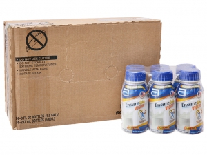 Thùng 24 chai sữa bột pha sẵn Ensure Original vani 237ml