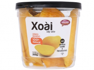 Xoài sấy dẻo Mekong Yummy hộp 200g