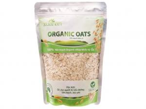 Yến mạch hữu cơ Xuân An Organic Oats bịch 400g